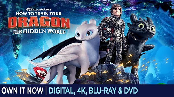男孩学英语经典动画电影推荐《驯龙高手3》