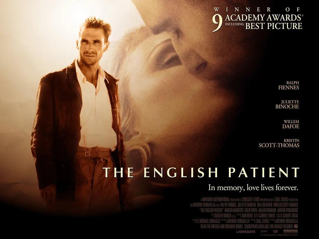 适合练习英式发音的英国电影:英国病人
