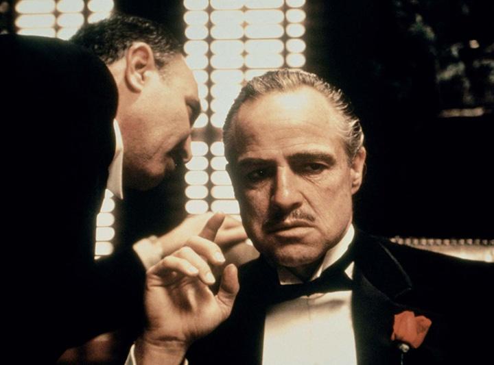 马龙·白兰度经典英语电影:《教父》